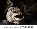 skull of fish | Shutterstock . vector #425455132