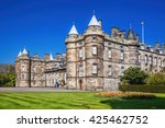 palace of holyroodhouse is... | Shutterstock . vector #425462752