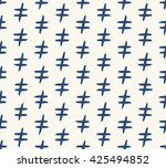 seamless pattern made of hand... | Shutterstock .eps vector #425494852