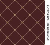 geometric repeating ornament... | Shutterstock . vector #425508145