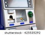 blue atm machine   Shutterstock . vector #425535292