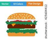hamburger icon. vector...