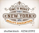retro design. vector layered | Shutterstock .eps vector #425613592