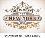 retro design. vector layered | Shutterstock .eps vector #425613592