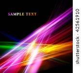 beautiful bright fractal... | Shutterstock . vector #42561910