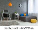 stylish designed boy teenager's ... | Shutterstock . vector #425624596