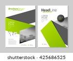 annual report vector...   Shutterstock .eps vector #425686525