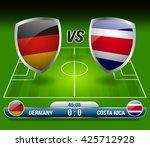 Germany Vs Costa Rica Soccer...