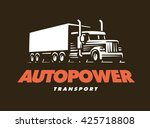 truck logo illustration   Shutterstock .eps vector #425718808