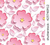 trendy background seamless... | Shutterstock .eps vector #425740912