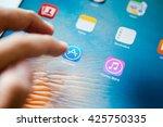 bangkok thailand   may 23 2016  ... | Shutterstock . vector #425750335