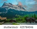 grindelwald   switzerland | Shutterstock . vector #425784046
