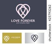 love logo   Shutterstock .eps vector #425793262