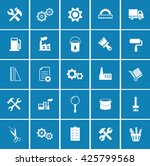 industrial icons | Shutterstock .eps vector #425799568