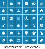sale icons | Shutterstock .eps vector #425799652