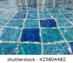 swimming pool background | Shutterstock . vector #425804482