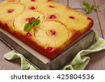 Upside Down Pineapple Cake Wit...