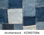 Denim Patchwork Textile ...
