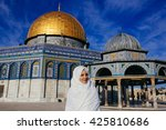 Woman Standing Near  Dome Of...