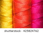 closeup of brightly colored... | Shutterstock . vector #425824762