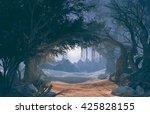 3d Rendering Of Enchanted Dark...