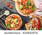 Vegetarian Sourdough Pizza Wit...