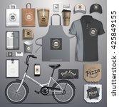 vector illustration corporate... | Shutterstock .eps vector #425849155