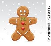 ginger bred | Shutterstock .eps vector #42585559