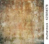 brown grunge background. paper... | Shutterstock . vector #425858578