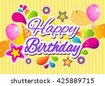 birthday.   Shutterstock .eps vector #425889715