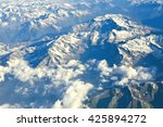 mountains  afghanistan | Shutterstock . vector #425894272