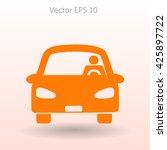 driver vector icon | Shutterstock .eps vector #425897722