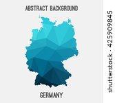 Germany Deutschland Map In...