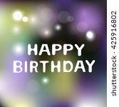 blurred background blurred... | Shutterstock .eps vector #425916802