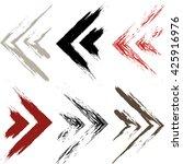 cute vector geometric seamless...   Shutterstock .eps vector #425916976