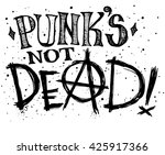 punks not dead label design for ...