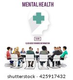 mental health psychological... | Shutterstock . vector #425917432