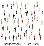 people diversity achievement... | Shutterstock . vector #425933542
