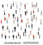 people diversity achievement...   Shutterstock . vector #425933542