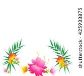 flowers | Shutterstock .eps vector #425933875