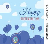 guam independence day flat... | Shutterstock .eps vector #425981776