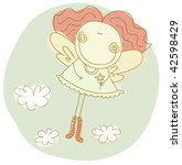 little fairy | Shutterstock .eps vector #42598429
