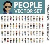 diversity community people flat ...   Shutterstock .eps vector #425989822