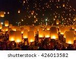 chiang mai thailand  october 25 ... | Shutterstock . vector #426013582