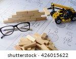 architectural blueprints | Shutterstock . vector #426015622