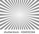 white and gray sunburst... | Shutterstock .eps vector #426032266