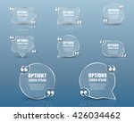 bubble with the text and quote. | Shutterstock .eps vector #426034462