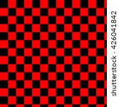 Black And Red Checkered...