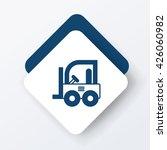 truck icon | Shutterstock .eps vector #426060982