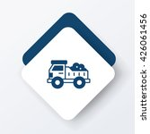 truck icon | Shutterstock .eps vector #426061456